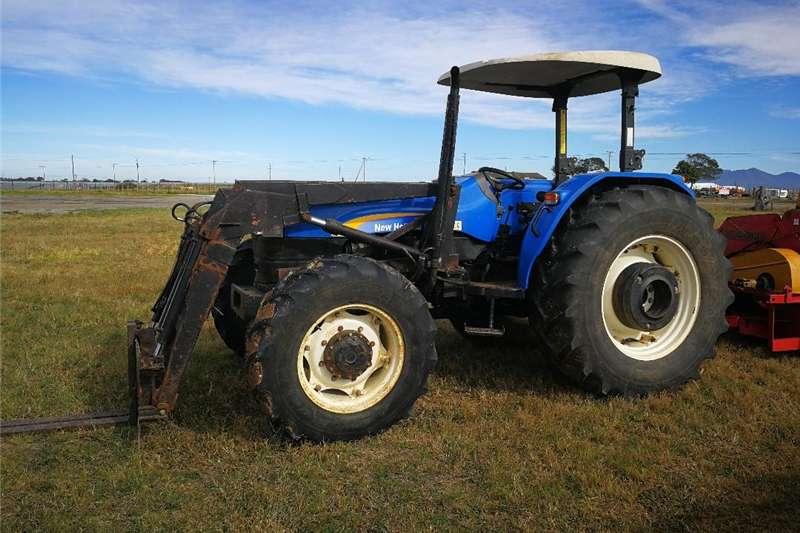 Four wheel drive tractors NEW HOLLAND TRACTOR Tractors
