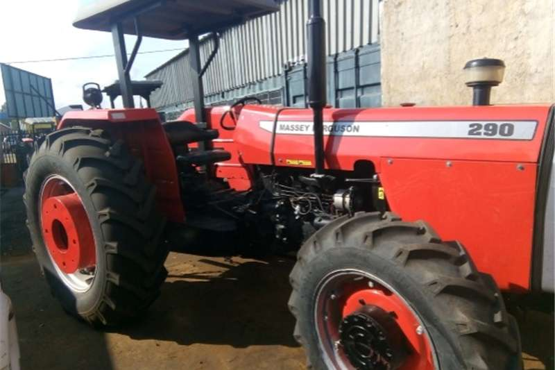 Four wheel drive tractors S1750 Red Massey Ferguson (MF) 290 60kW/80Hp 4x4 P Tractors