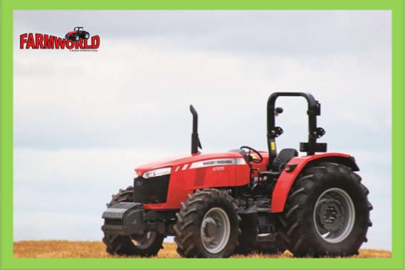 Four wheel drive tractors S2227 Red Massey Ferguson (MF) 4708 60kw 4x4 New T Tractors