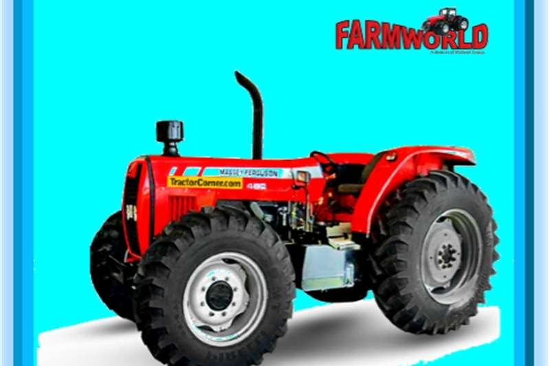 Four wheel drive tractors S2228 Red Massey Ferguson (MF) 460 81kw 4x4 New Tr Tractors