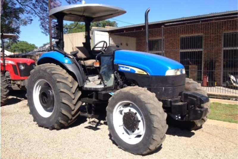 Tractors Four Wheel Drive Tractors S2657 Blue New Holland TD80 60kW/80Hp Pre-Owned Tr