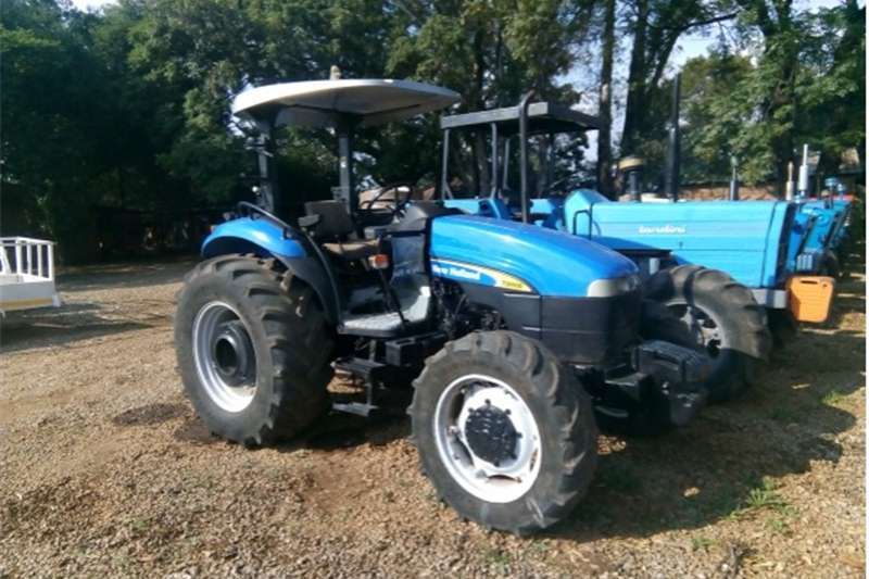 Four wheel drive tractors S2657 Blue New Holland TD80 60kW/80Hp Pre Owned Tr Tractors