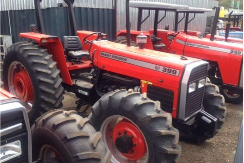 Four wheel drive tractors S2771Red Massey Ferguson (MF) 399 74kW 4x4 Pre Own Tractors