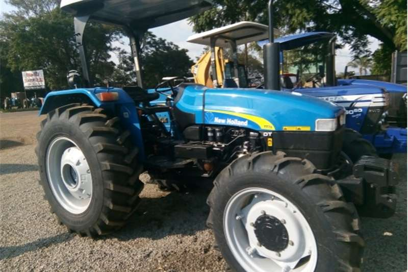 Four wheel drive tractors S2889 Blue New Holland TT75 56kW/75Hp 4x4 Pre Owne Tractors