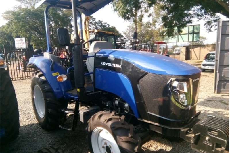 Tractors Four Wheel Drive Tractors S2893 Blue FOTON 504 50Hp/36kW 4x4 New Tractor
