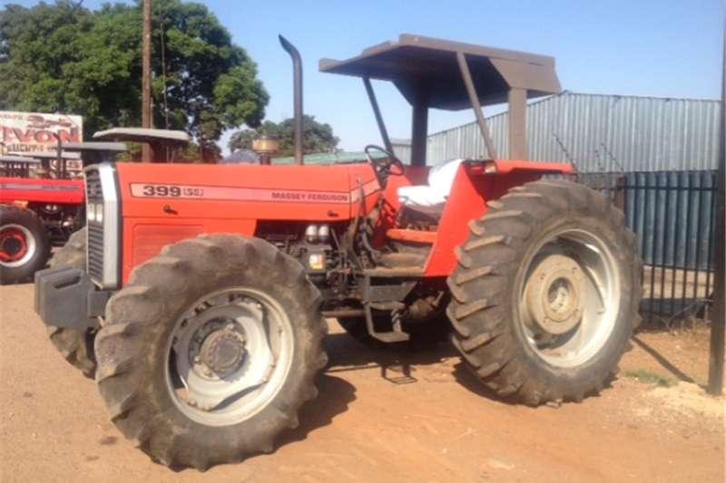 Four wheel drive tractors S2959Red Massey Ferguson (MF) 399 74kW/100Hp 4x4 P Tractors