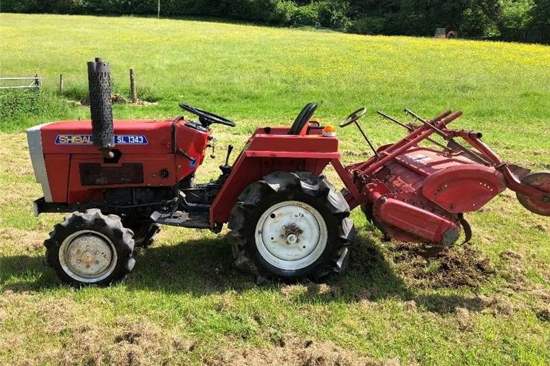 Four wheel drive tractors Shibaura SL1343 4WD Compact Tractor with 4ft Rotav Tractors