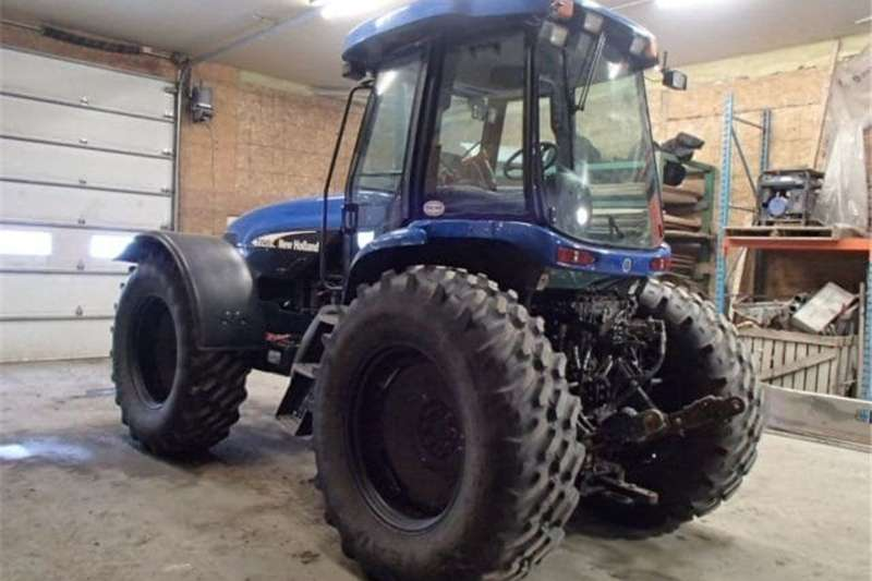 Tractors Four Wheel Drive Tractors TV145 Holland Tractor