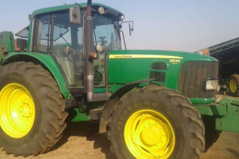 John Deere Four wheel drive tractors 6630 Tractors