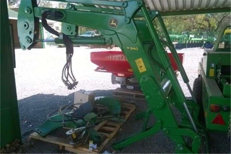 Tractors John Deere H340 Loader 0