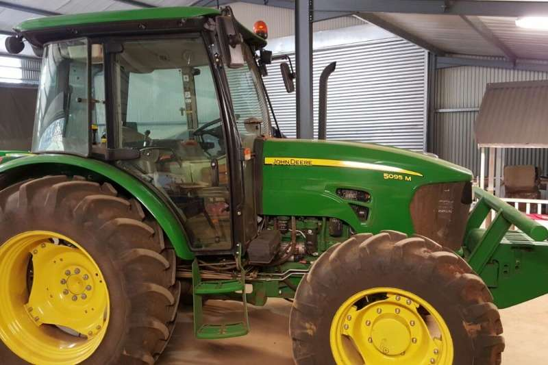 Tractors John Deere Used John Deere M5095 Available 2014