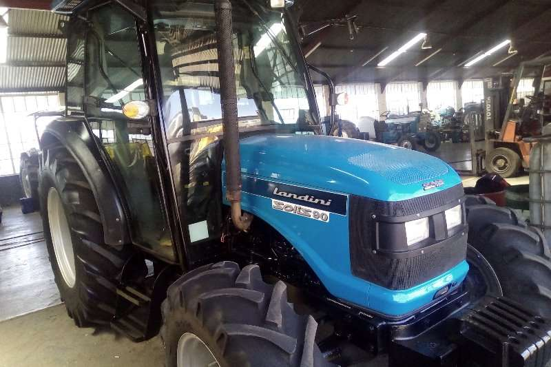 Tractors Landini Four Wheel Drive Tractors Landini Solis 90 Cab 2015
