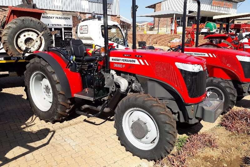 Massey Ferguson 3660 F 4x4 Tractors