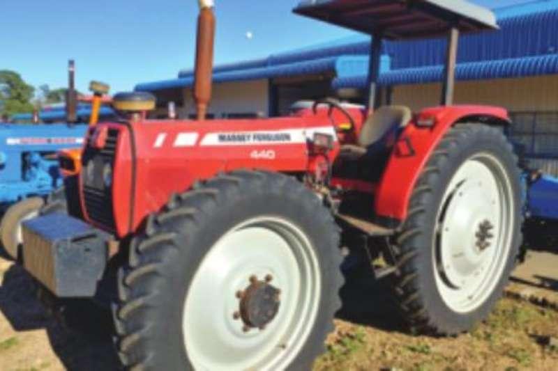 Massey Ferguson Four wheel drive tractors MF 440 Tractors