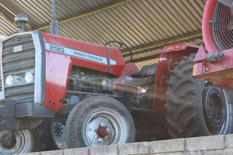 Tractors Massey Ferguson MF 290 0