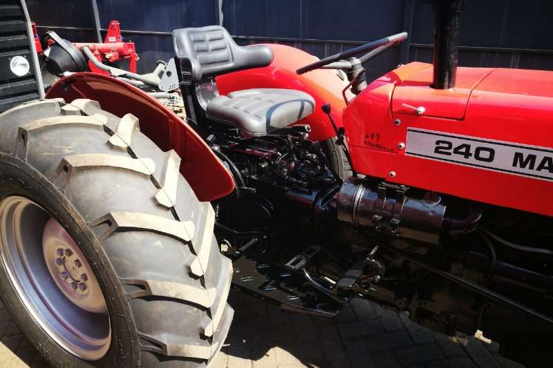 Massey Ferguson Two wheel drive tractors MF 240 Tractor Refurbished to NEW   012 520 5010 Tractors