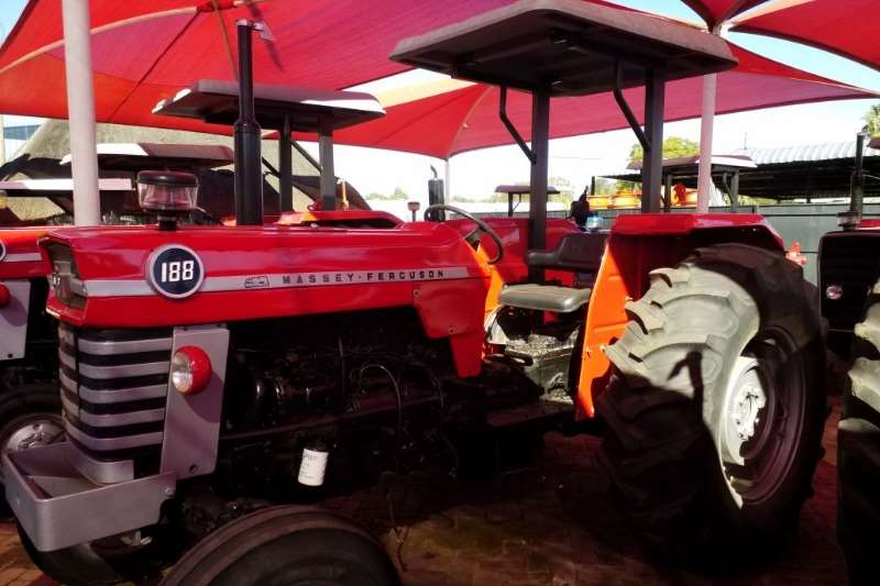 Massey Ferguson Two wheel drive tractors MF Tractor 188 Refurbished to NEW   012 520 5010 Tractors