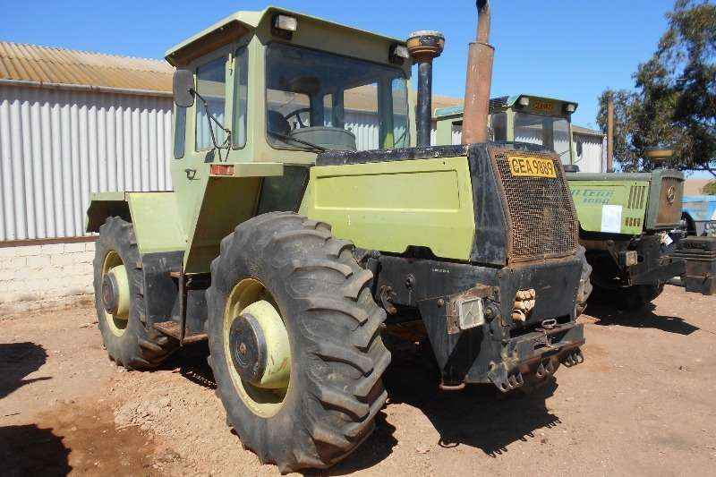 Tractors Mercedes Benz Four Wheel Drive Tractors Mercedes Benz 1300 0