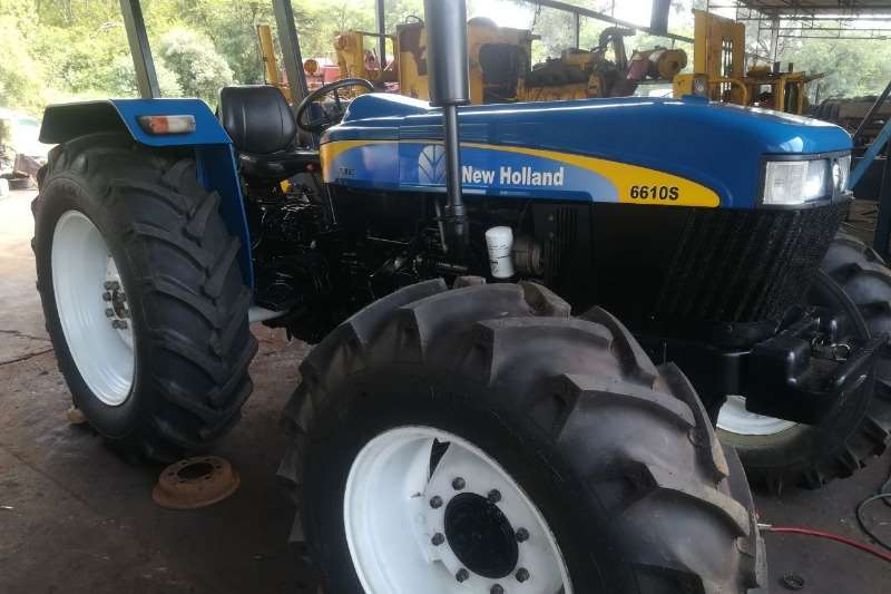 Tractors New Holland Four Wheel Drive Tractors New Holland 6610 S 2011