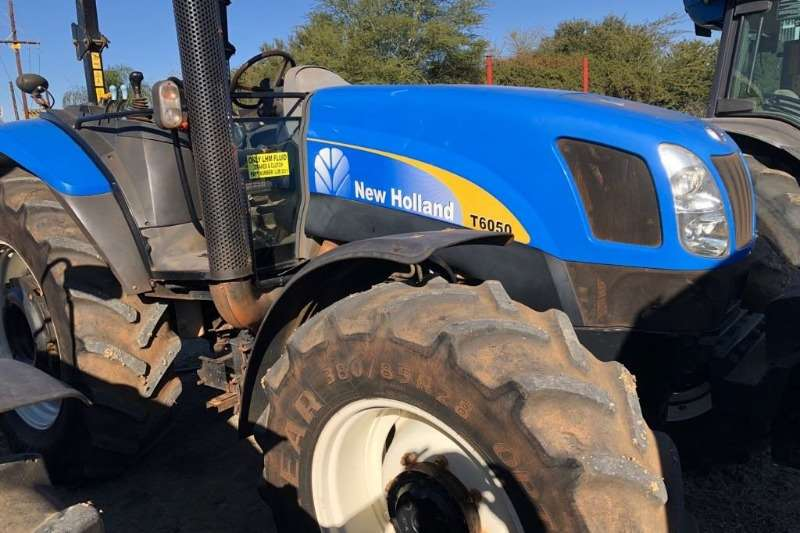 Tractors New Holland Four Wheel Drive Tractors New Holland T 6050's 2012