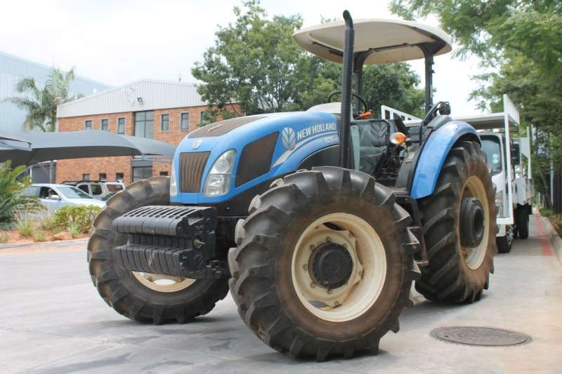 Tractors New Holland TD5110DT 4x4 Agri Tractor 2013