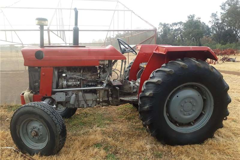 Other tractors 165 MF trackter and implements Tractors