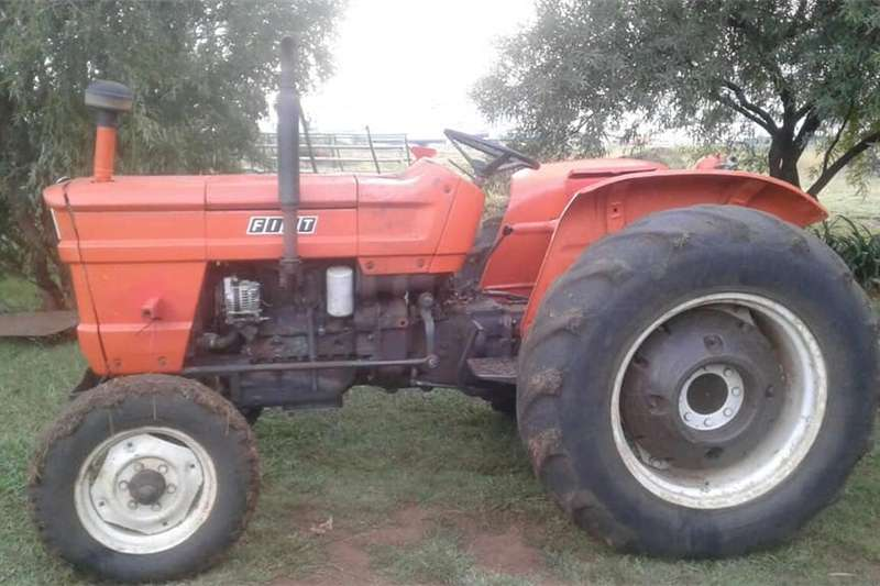 Tractors Other Tractors Fiat 480 Tractor and implements Combo