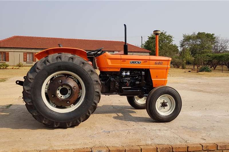 Tractors Other Tractors Fiat 640 Tractor