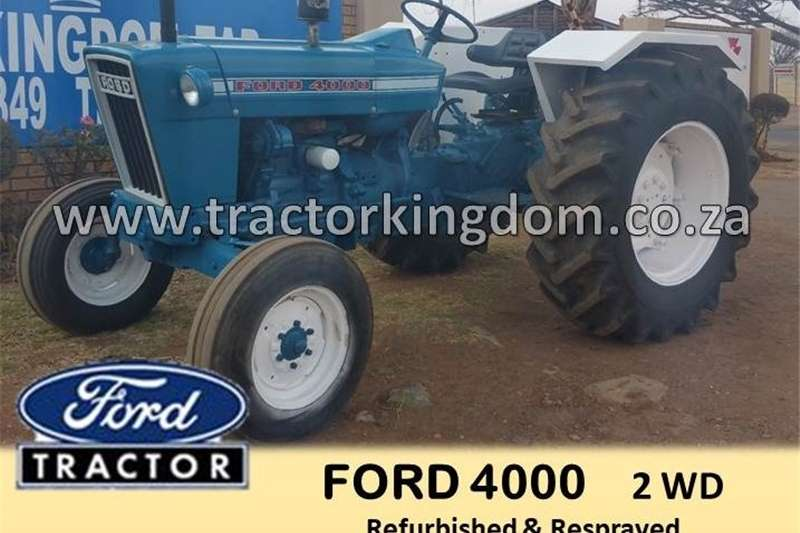 Tractors Other Tractors FORD 4000 TRACTOR