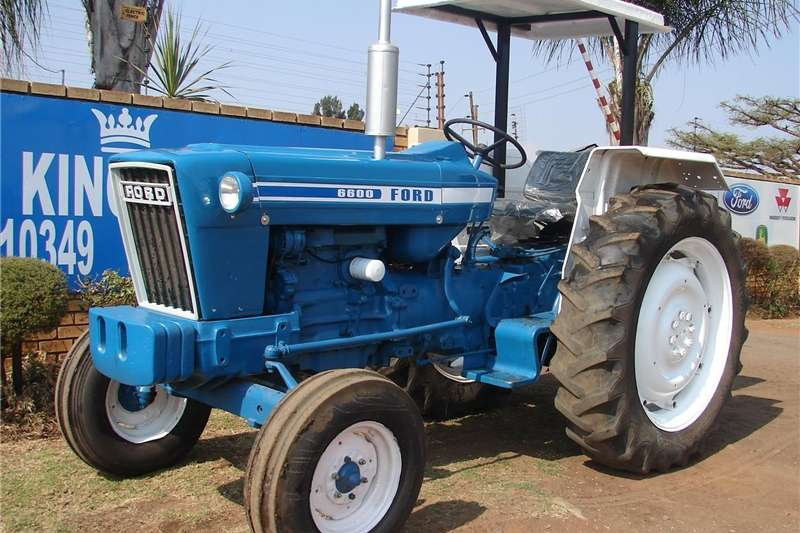 Tractors Other Tractors Ford 6600 2WD Tractor Refurbished and Resprayed