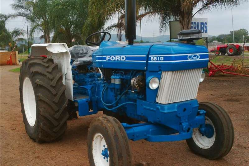 Tractors Other Tractors Ford 6610 2WD Tractor Refurbished and Resprayed