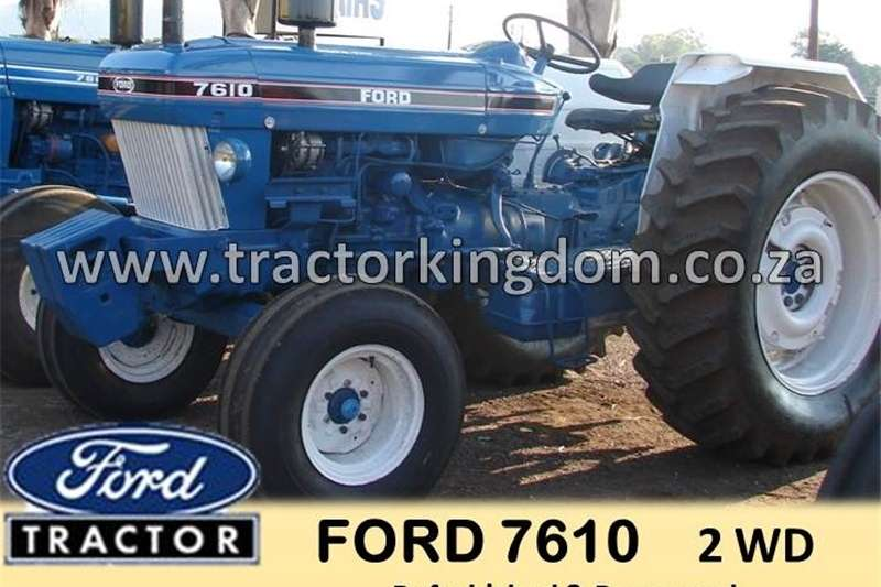 Other tractors FORD 7610 TRACTOR Tractors
