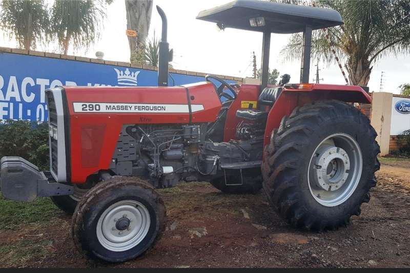 Tractors Other Tractors Massey Ferguson 290 XTRA 2WD Tractor Refurbished a