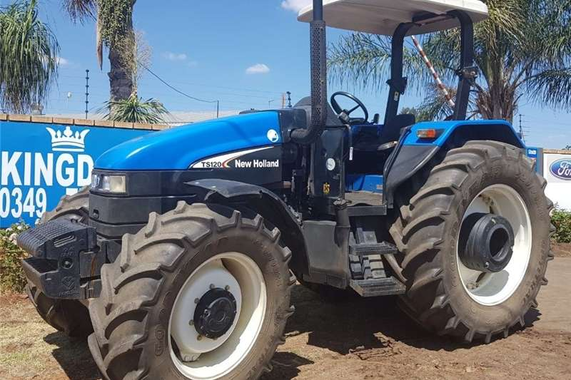 Tractors Other Tractors New Holland TS 120 4WD Tractor