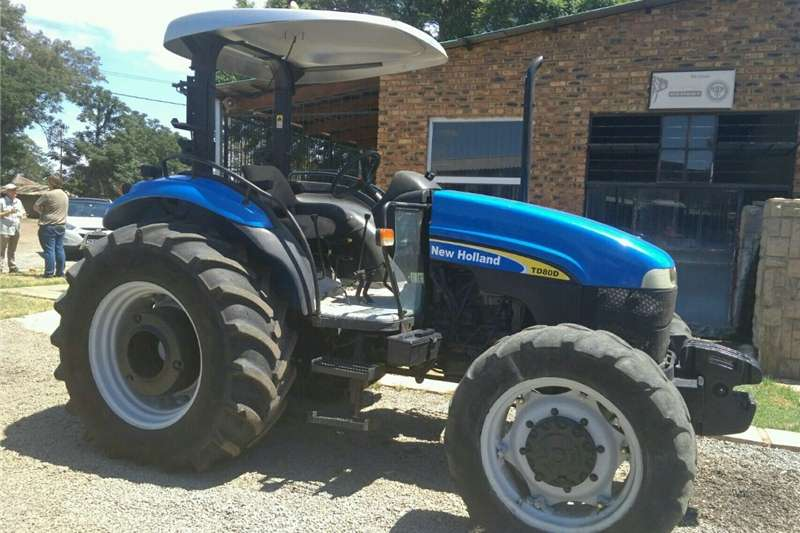 Tractors Other Tractors S2657 Blue New Holland TD80 60kW/80Hp Pre-Owned Tr