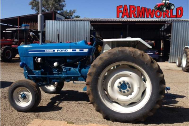 Tractors Other Tractors S2846 Blue Ford 6600 2x4 Pre-Owned Tractor