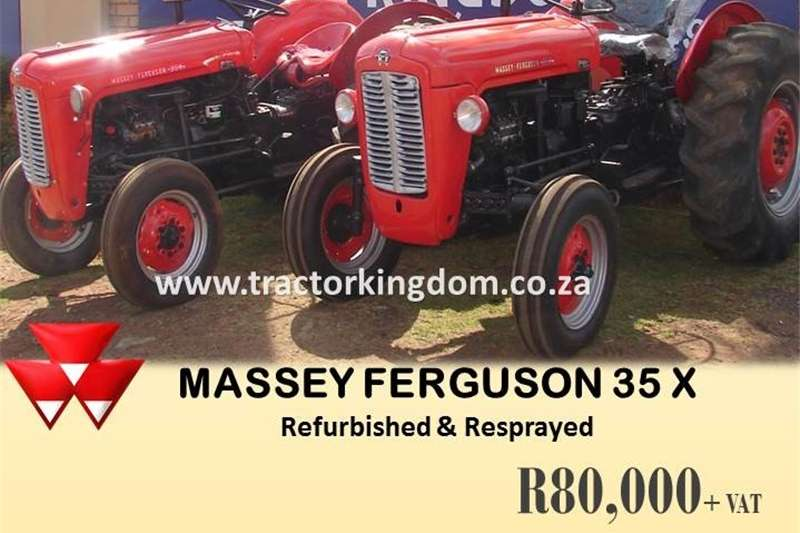 Tractors Other Tractors WIDE RANGE OF MASSEY FERGUSON TRACTORS AVAILABLE