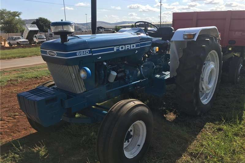 Two wheel drive tractors 6610 FORD TRACTOR 4X2 Tractors