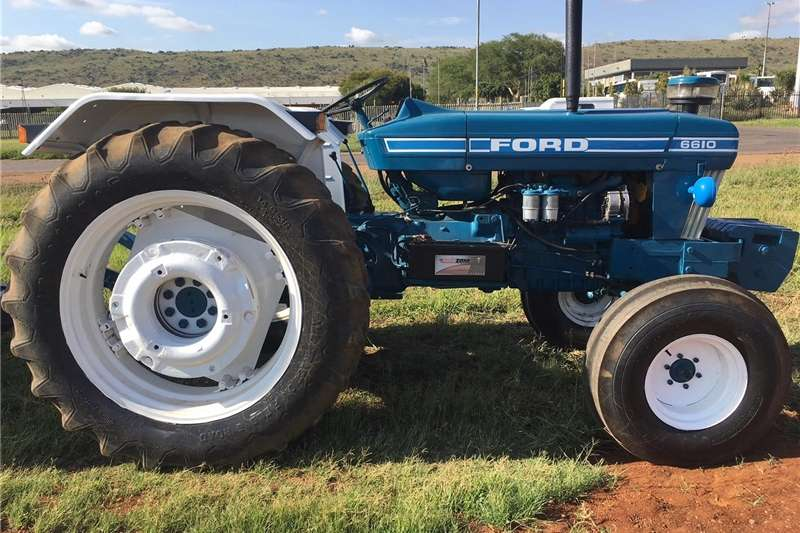 Tractors Two Wheel Drive Tractors 6610 FORD TRACTOR 4X2