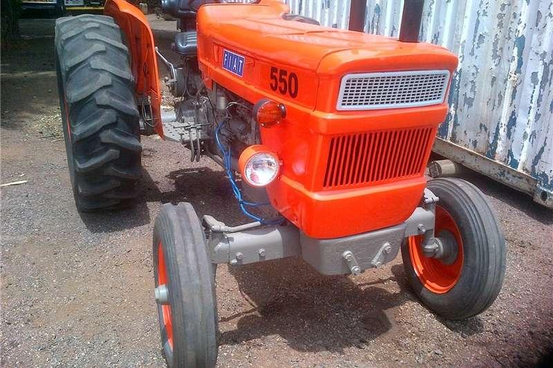 Two wheel drive tractors Fiat 550 tractor Tractors