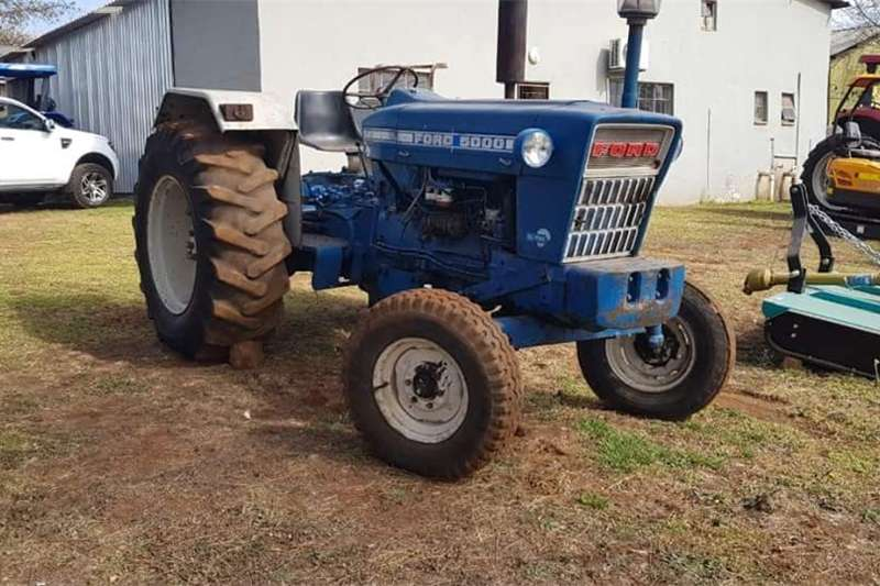 Tractors Two Wheel Drive Tractors Ford 5000