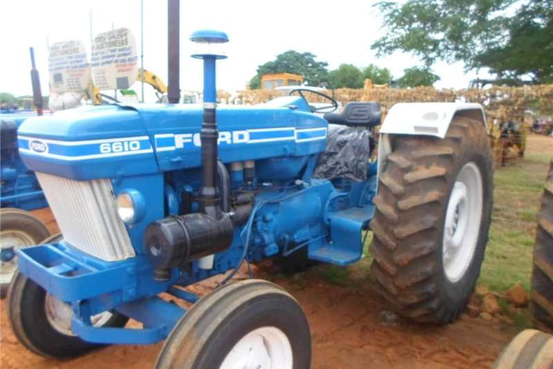 Two wheel drive tractors ford 6610 2x4 Tractors