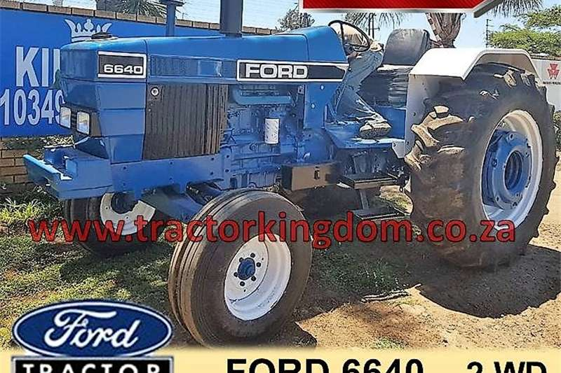 Tractors Two Wheel Drive Tractors FORD 6640 TRACTOR