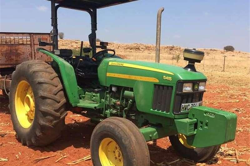 Two wheel drive tractors John Deere 5715 Tractors