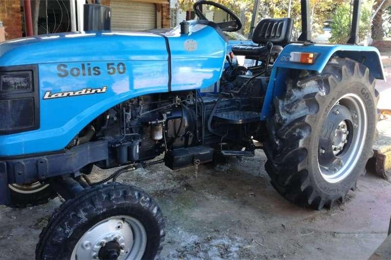 Tractors Two Wheel Drive Tractors Landini solis 50model 2x4 2013