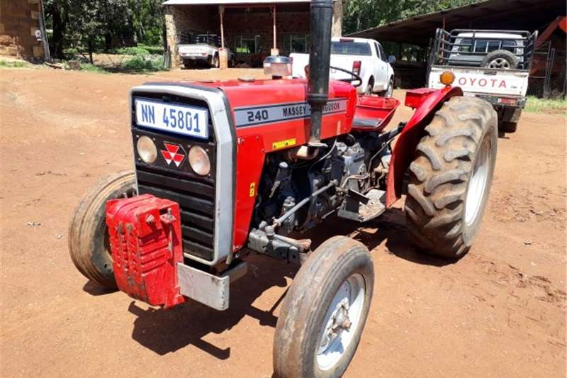 Tractors Two Wheel Drive Tractors massey fergerson 240 tractor for sale