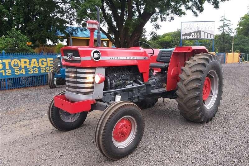 Two wheel drive tractors Massey Ferguson 188 Tractors