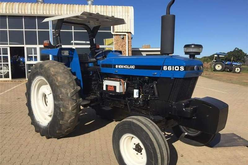 Tractors Two Wheel Drive Tractors New Holland 6610 S 2004