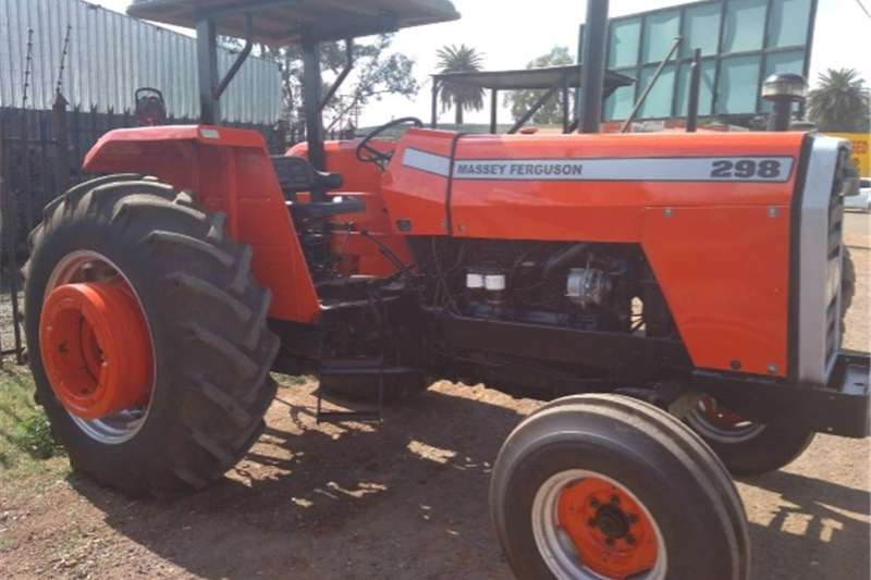 Two wheel drive tractors S1670 Red Massey Ferguson (MF) 298 2x4 Pre Owned T Tractors