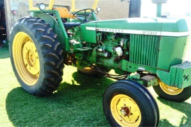 Tractors Two Wheel Drive Tractors S2798 Green John Deere 2130 2x4 Pre-Owned Tractor